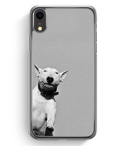 iPhone XR Hardcase Hülle - SW Bullterrier