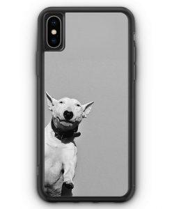 iPhone XS Max Silikon Hülle - SW Bullterrier