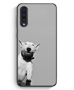 Samsung Galaxy A50 Silikon Hülle - SW Bullterrier