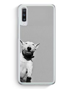 Samsung Galaxy A70 Hardcase Hülle - SW Bullterrier