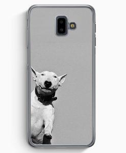 Samsung Galaxy J6+ Plus (2018) Hardcase Hülle - SW Bullterrier