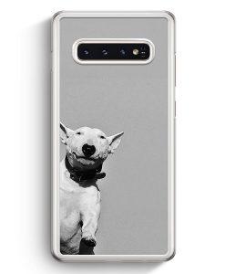 Samsung Galaxy S10+ Plus Hardcase Hülle - SW Bullterrier