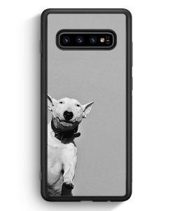 Samsung Galaxy S10e Silikon Hülle - SW Bullterrier