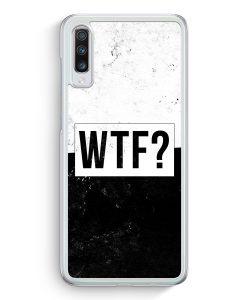 Samsung Galaxy A70 Hardcase Hülle - WTF?