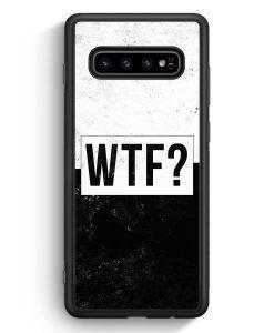 Samsung Galaxy S10e Silikon Hülle - WTF?