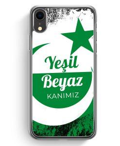 iPhone XR Hardcase Hülle - Yesil Beyaz Kanimiz Türkei Türkiye