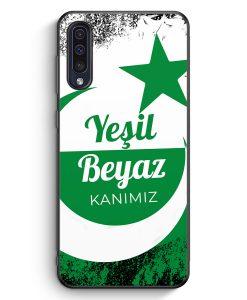 Samsung Galaxy A50 Silikon Hülle - Yesil Beyaz Kanimiz Türkei Türkiye