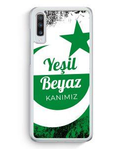 Samsung Galaxy A70 Hardcase Hülle - Yesil Beyaz Kanimiz Türkei Türkiye