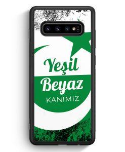 Samsung Galaxy S10e Silikon Hülle - Yesil Beyaz Kanimiz Türkei Türkiye