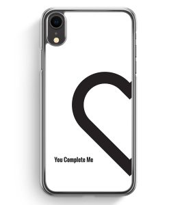 iPhone XR Hardcase Hülle - You Complete Me #01