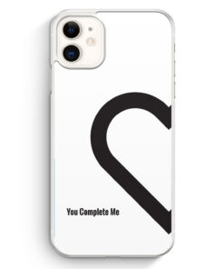 iPhone 11 Hardcase Hülle - You Complete Me #01