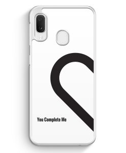 Samsung Galaxy A20e Hardcase Hülle - You Complete Me #01