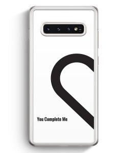 Samsung Galaxy S10+ Plus Hardcase Hülle - You Complete Me #01