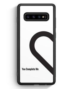 Samsung Galaxy S10e Silikon Hülle - You Complete Me #01