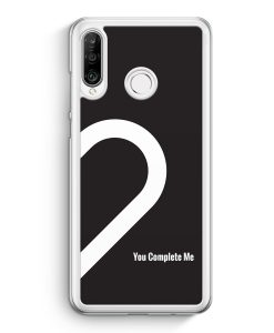 Huawei P30 Lite Hardcase Hülle - You Complete Me #02