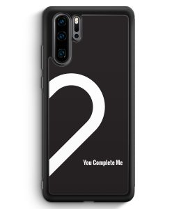 Huawei P30 Pro Silikon Hülle - You Complete Me #02