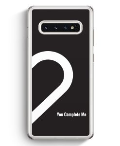 Samsung Galaxy S10+ Plus Hardcase Hülle - You Complete Me #02
