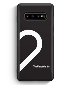 Samsung Galaxy S10 Silikon Hülle - You Complete Me #02