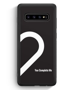 Samsung Galaxy S10 Silikon Hülle - You Complete Me #02
