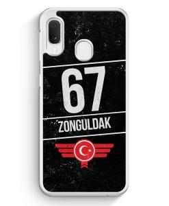 Samsung Galaxy A20e Hardcase Hülle - Zonguldak 67