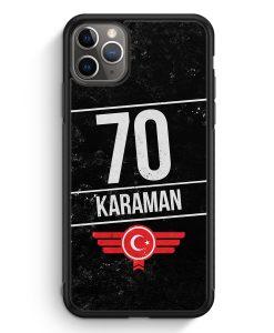 iPhone 11 Pro Max Silikon Hülle - Karaman 70