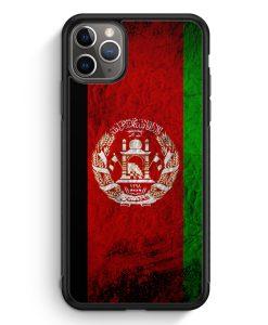 iPhone 11 Pro Silikon Hülle - Afghanistan Splash Flagge