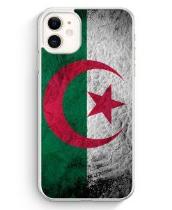iPhone 11 Hardcase Hülle - Algerien Splash Flagge