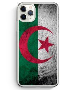 iPhone 11 Pro Max Hardcase Hülle - Algerien Splash Flagge