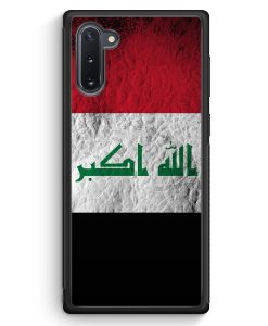 Samsung Galaxy Note 10 Silikon Hülle - Irak Splash Flagge