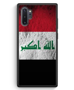 Samsung Galaxy Note 10+ Plus Silikon Hülle - Irak Splash Flagge