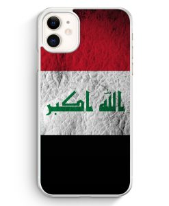 iPhone 11 Hardcase Hülle - Irak Splash Flagge