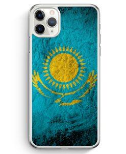 iPhone 11 Pro Hardcase Hülle - Kasachstan Splash Flagge