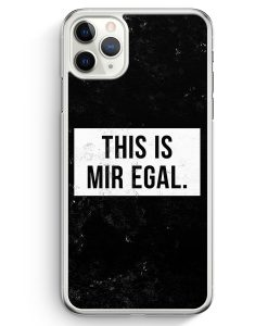 iPhone 11 Pro Max Hardcase Hülle - This Is Mir Egal