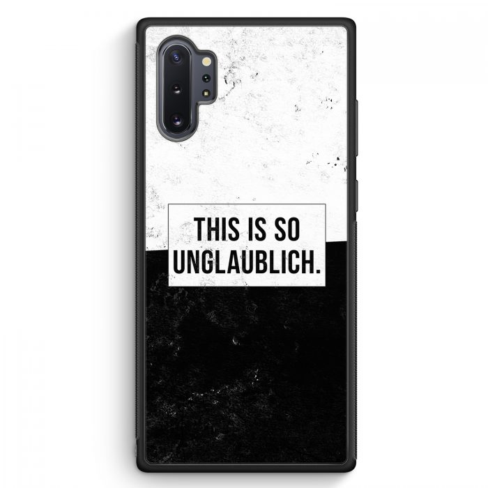 Samsung Galaxy Note 10+ Plus Silikon Hülle - This Is So Unglaublich