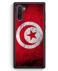 Samsung Galaxy Note 10 Silikon Hülle - Tunesien Splash Flagge
