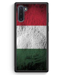Samsung Galaxy Note 10 Silikon Hülle - Ungarn Splash Flagge