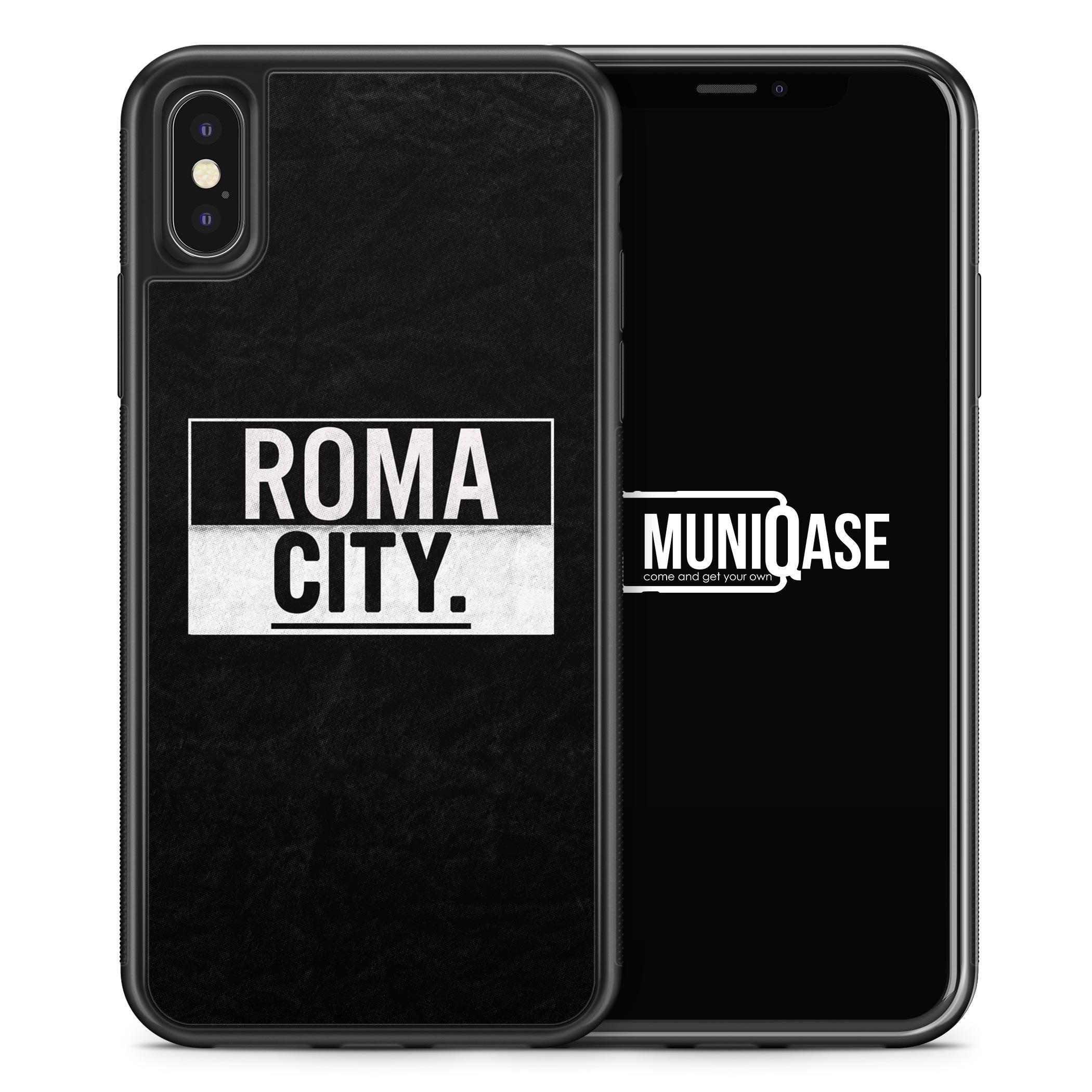 iPhone X Hülle SILIKON - Roma CITY