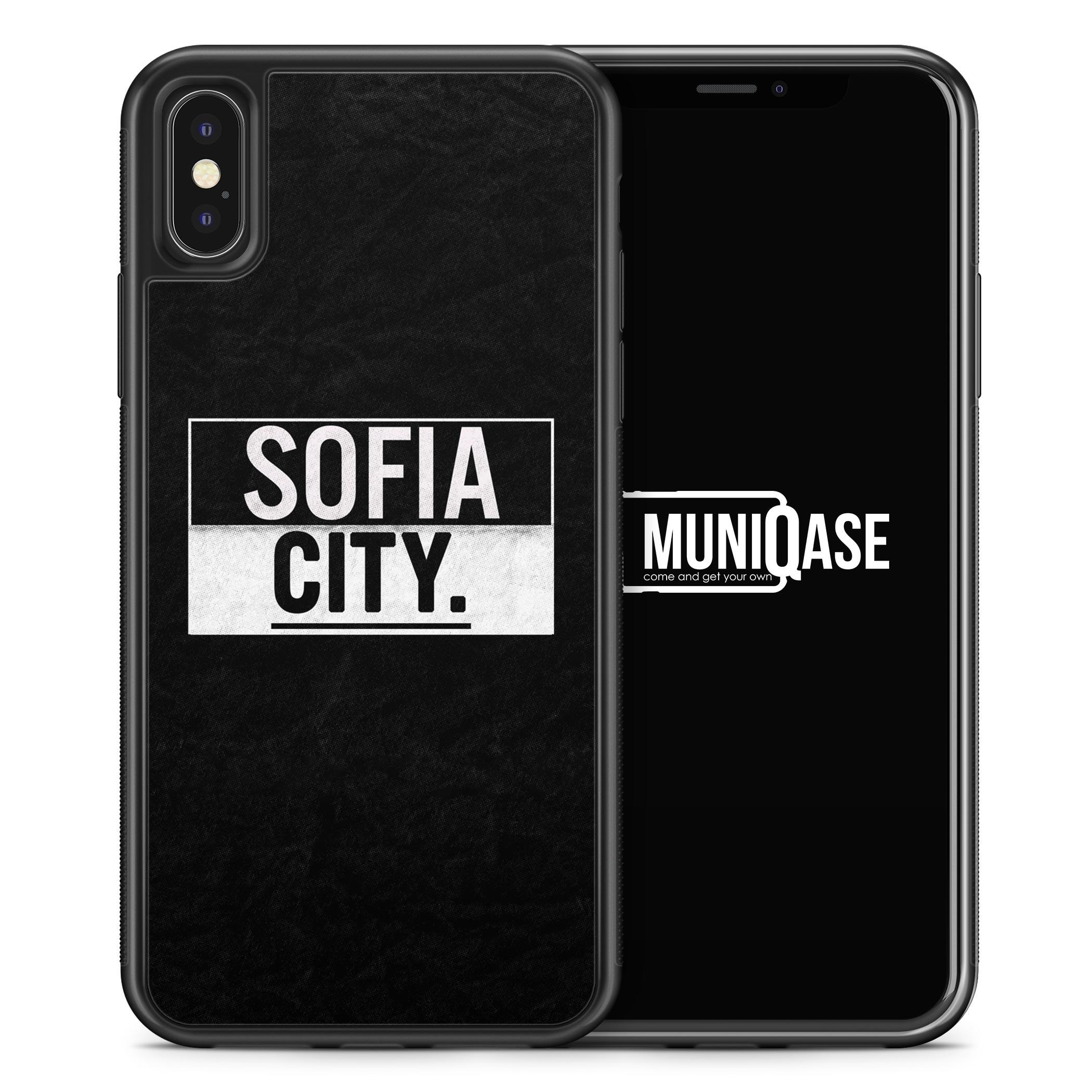 iPhone X Hülle SILIKON - Sofia CITY