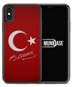 iPhone X Hülle SILIKON - Türkei + Atatürk
