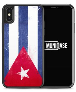 iPhone X Hülle SILIKON - Kuba Grunge Cuba