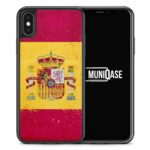 iPhone X Hülle SILIKON - Spanien Grunge Espana Spain