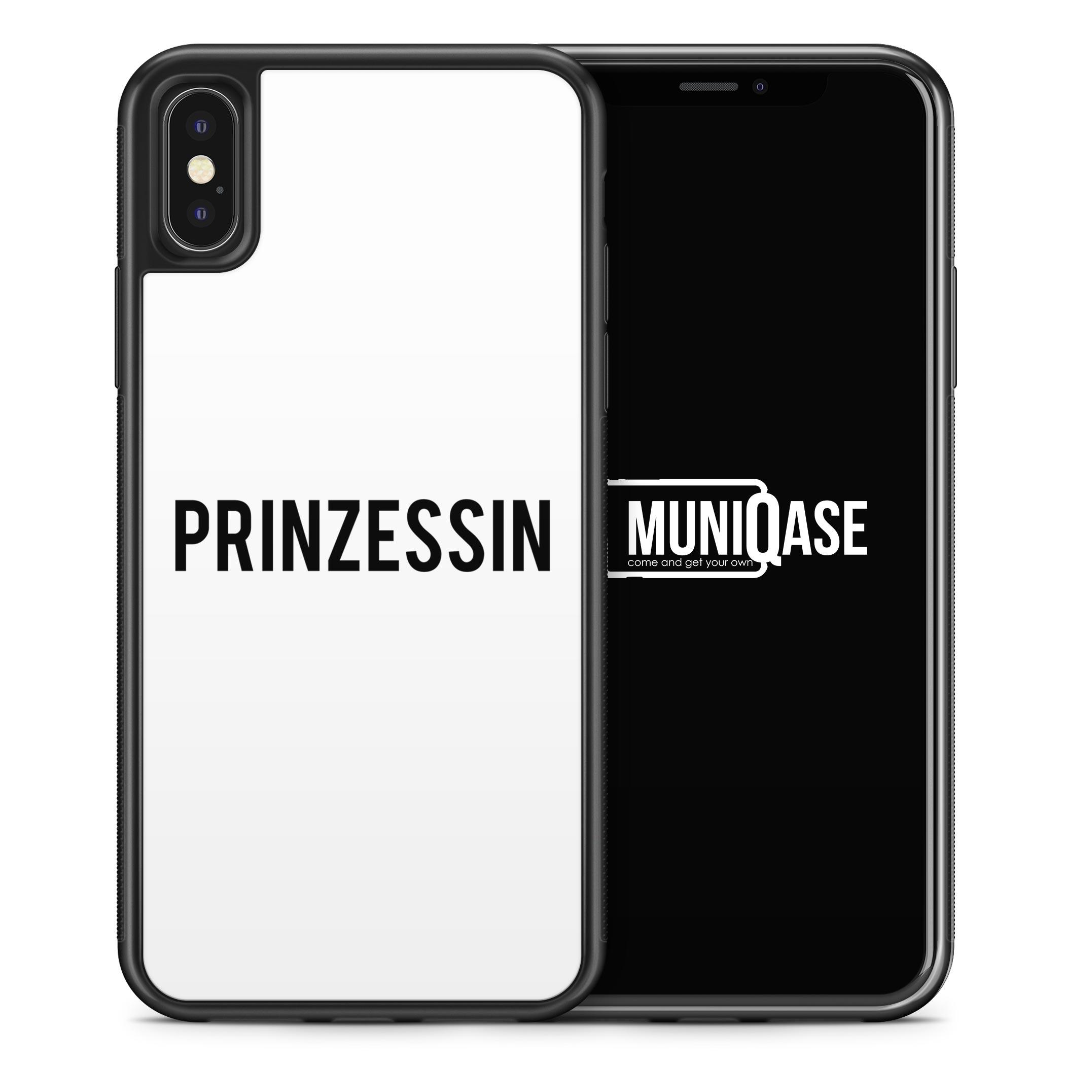 iPhone X Hülle SILIKON - Prinzessin WT
