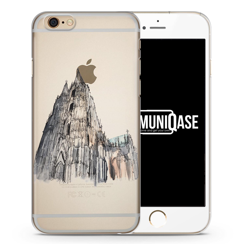 Kölner Dom - transparente Handyhülle für iPhone 6 Plus & 6s Plus