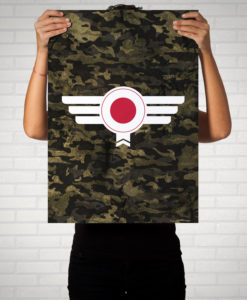 Japan Camouflage - Poster