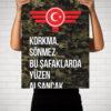 Korkma Sönmez Türkiye Türkei Camouflage - Poster