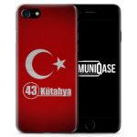 Kütahya 43 Türkiye Türkei - Slim Handyhülle für iPhone 7