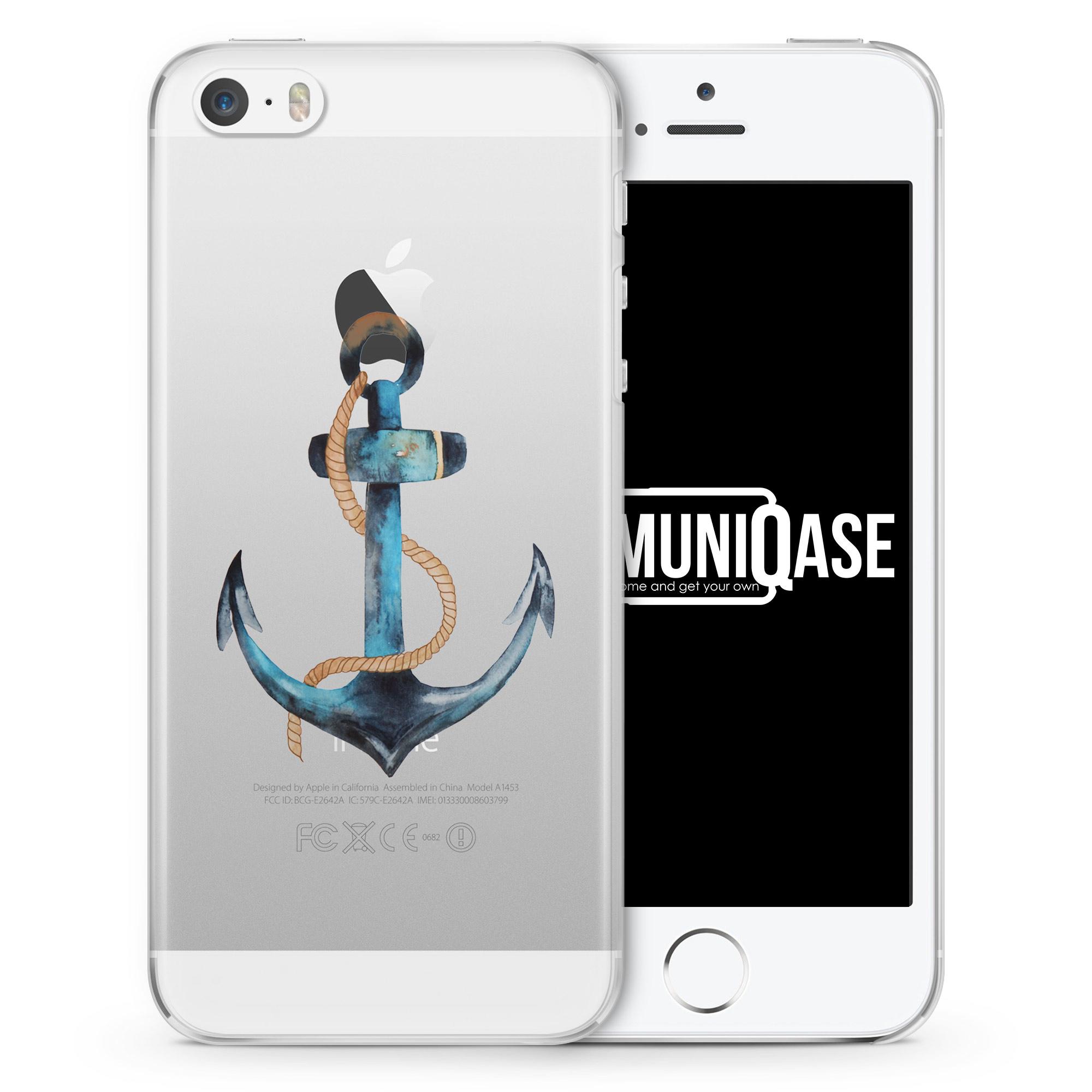 Anker Tropical - transparente Handyhülle für iPhone SE