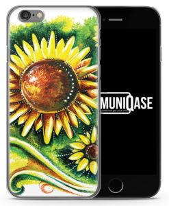 Sonnenblume Vintage - Slim Handyhülle für iPhone 6 Plus & 6s Plus
