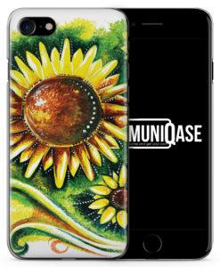 Sonnenblume Vintage - Slim Handyhülle für iPhone 7
