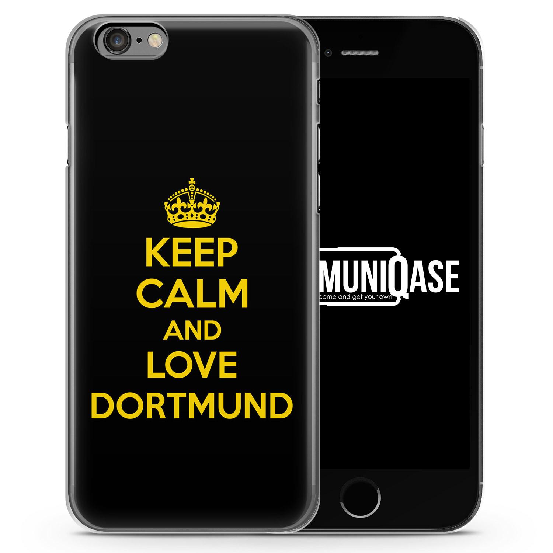 Keep Calm And Love Dortmund - Slim Handyhülle für iPhone 6 Plus & 6s Plus